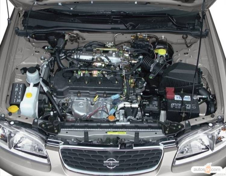 Nissan Sentra Engineview on 2001 Dodge Ram